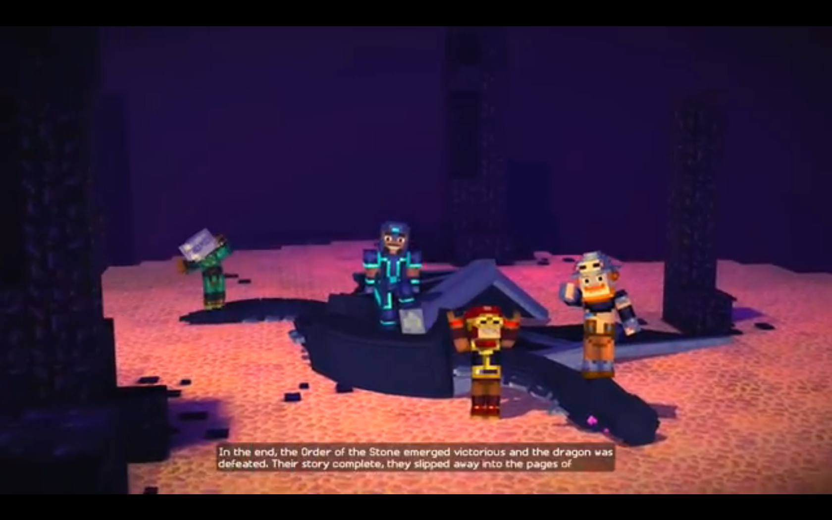 ender dragon minecraft story mode wiki fandom powered by wikia