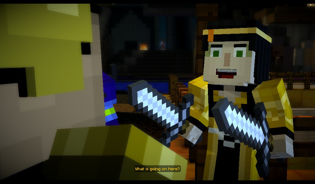 Minecraft story mode characters Quiz - By dirc1826