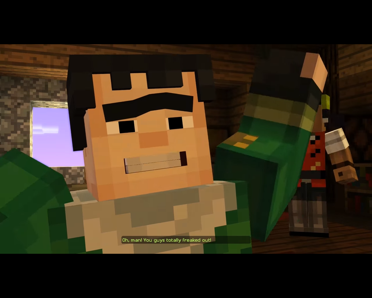 minecraft story mode names of characters