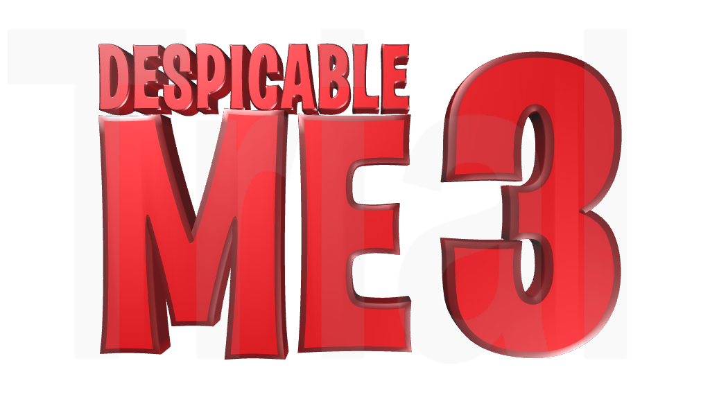 g Logo From Despicable me File:despicable me 3 Logo.png