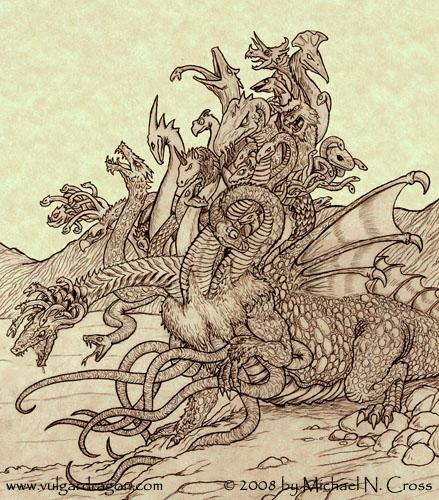Ladon (smok) | Mitolog...