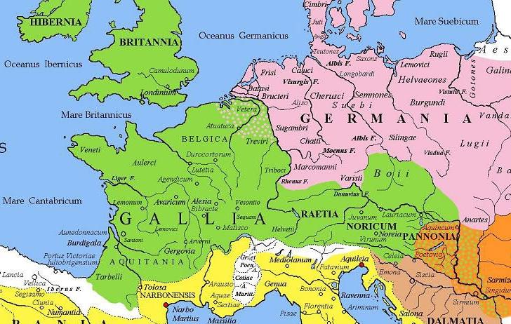 Gallien | Mittelalter Wiki | FANDOM powered by Wikia