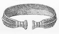 Armring, Bronze, Dänemark, RdGA Bd1, Taf.007, Abb.007
