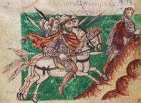 Stuttgarter Psalter Cod.bibl.fol.23, 3v