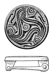 Scheibenfibel, Gotland RdgA Bd2, Taf.012, Abb.083
