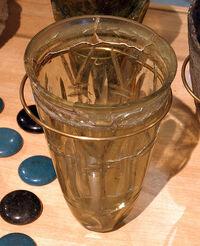 Hordaland Viking drinking glass