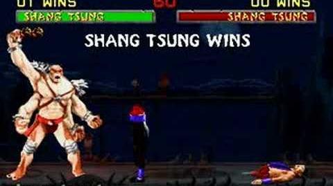 Mortal Kombat II - Fatality 1 - Shang Tsung
