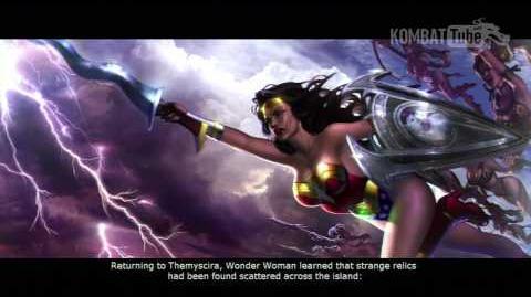 MKvsDC Ending WONDER WOMAN