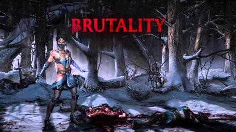 Kitana Brutality 2 - Biggest Fan