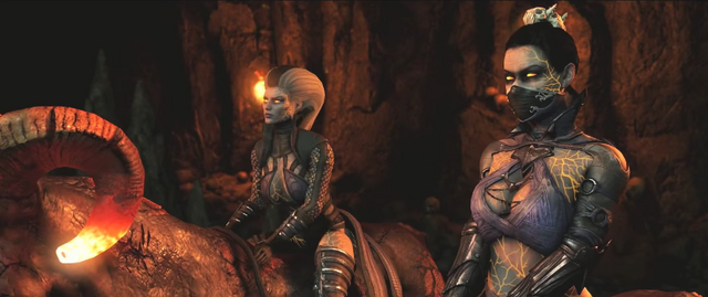 File:Kitana and Sindel MKX.png