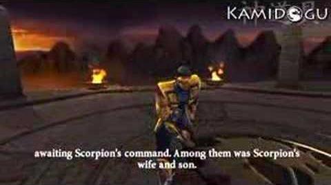 Mortal Kombat Armageddon Scorpion's Ending