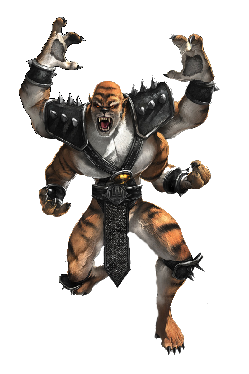Tiger stripe hentai