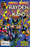 MK Rayden & Kano Issue 3 Cover
