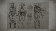 MKX D'vorah Concept Art 6