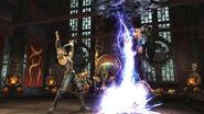 MK9 Nightwolf Kitana