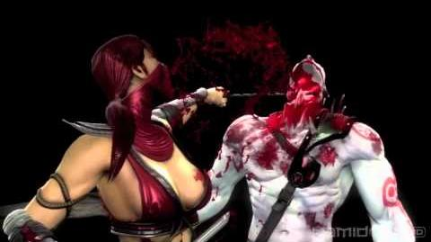 Mortal Kombat (2011) Skarlets Blood Bath Fatality 720p HD! MK9 Skarelet Gameplay