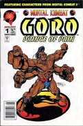 MK Goro Prince of Pain Issue 1 Cover 2