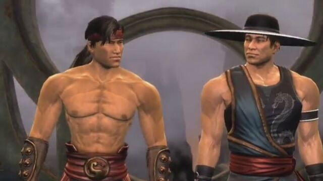 File:Kung Lao and Liu Kang in the Evil Tower.JPG