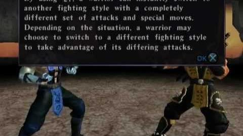 Mortal Kombat Deadly Alliance (PS2) - Konquest Mode