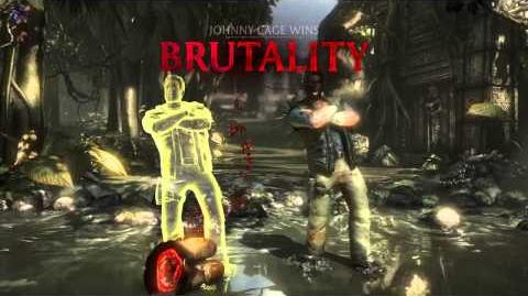 Johnny Cage Brutality 4 - Fall Guy