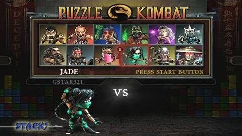 Mortal Kombat Deception - Puzzle Kombat Playthrough (PS2)