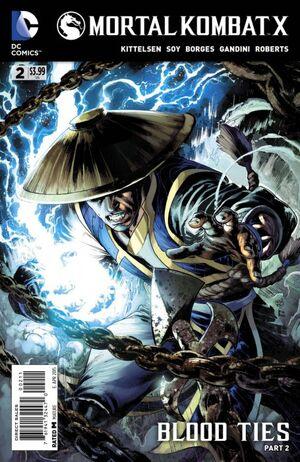 Mortal Kombat X 2 Print Cover