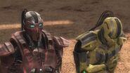 Cyrax offers the Lin Kuei's loyalty