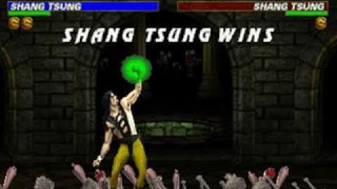 Mortal Kombat Trilogy - Brutality - Shang Tsung