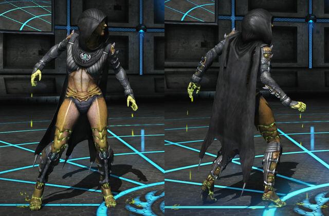 File:MKX Variation Preview - Venomous D'Vorah.jpg