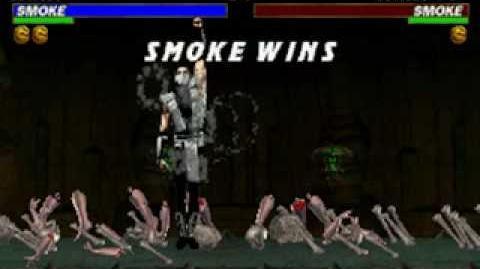 Mortal Kombat Trilogy - Brutality - Human Smoke
