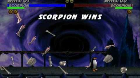 Ultimate Mortal Kombat 3 - Animality - Scorpion-2