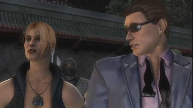 File:Johnny Cage flirts with Sonya - Cópia.PNG