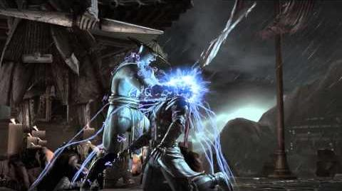 MKX Raiden Bug Eyes Fatality