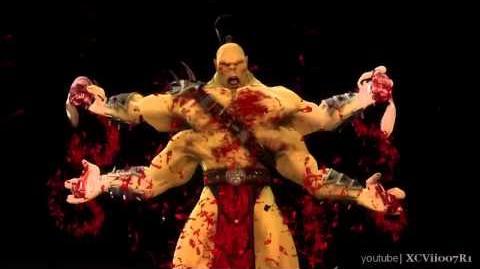 Mortal Kombat 9 (2011) Goro Fatality 1