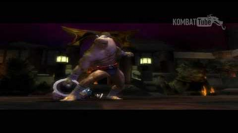 MK SM Boss Fatality Goro