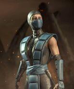 Cassie Cage Sub-Zero Kosplay Alternate Costume MKX