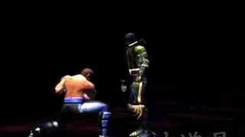 Mortal Kombat Shaolin Monks Johnny Cage2