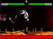 Takiro Backflip kick