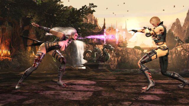 File:Mortal Kombat 2011 Sonya Blade vs Sindel 2.jpg