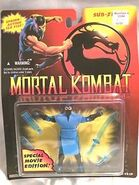 Sub Zero Movie figure carded