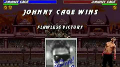 Mortal Kombat Trilogy - Friendship - Johnny Cage