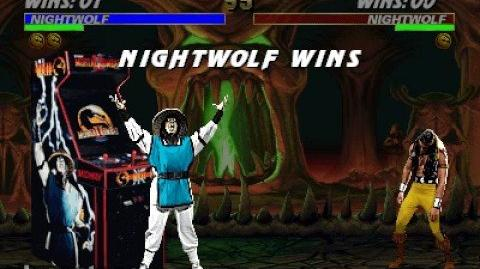Mortal Kombat 3 - Friendship - Nightwolf