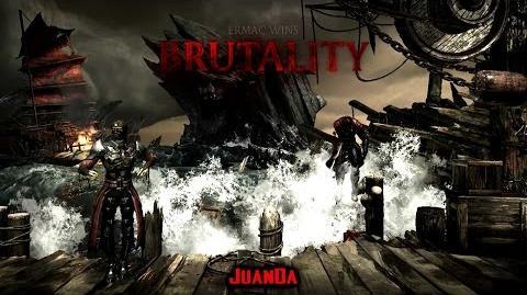 Mortal Kombat X The Kove Stage Brutality 2