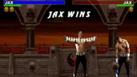 Mortal Kombat Trilogy - Friendship - Jax (MKII)