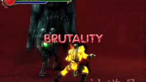 Mortal Kombat Shaolin Monks Scorpion's Brutality-0