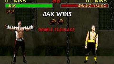 Mortal Kombat II - Friendship - Jax