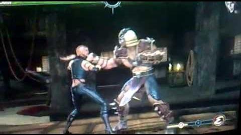 Mortal Kombat 2011 Shao Kahn 10 hits Combo - 104% damage MK9