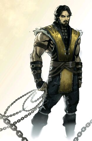 File:Scorpion unmasked MKX Comic Concept Art.jpg