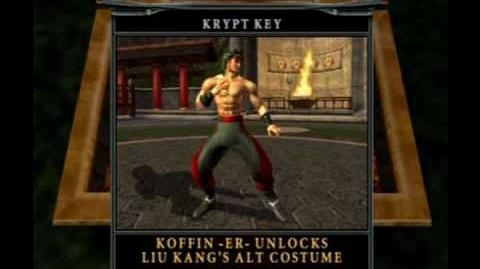 Mortal Kombat Deception - How To Unlock Liu Kang & His Costume - 2 2