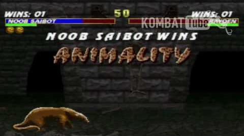 MK III Noob Saibot Animality